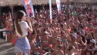 Paros island Greece .Party punda b.club. Vassilis Kontaxis