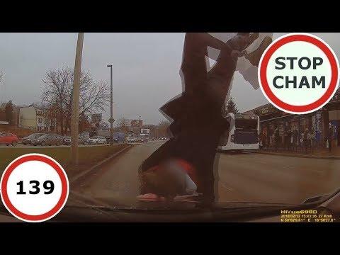 Stop Cham #139 – Niebezpieczne i chamskie sytuacje na drogach