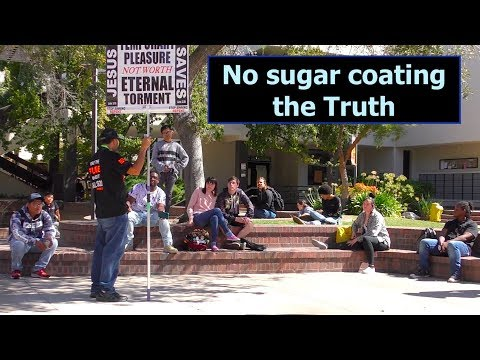 """Street Preacher Turns Into """"Biblical Studies"""" College Professor- Students Show Up For Class"""