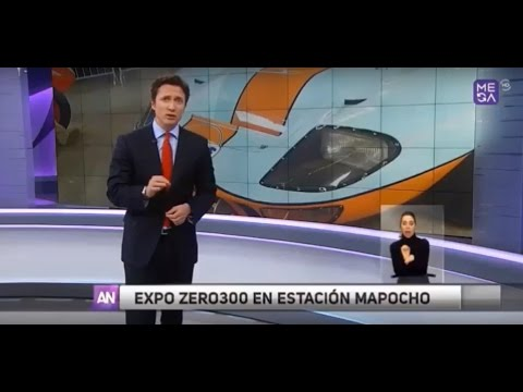 Noticiero Canal Mega - Expo ZERO300 2015
