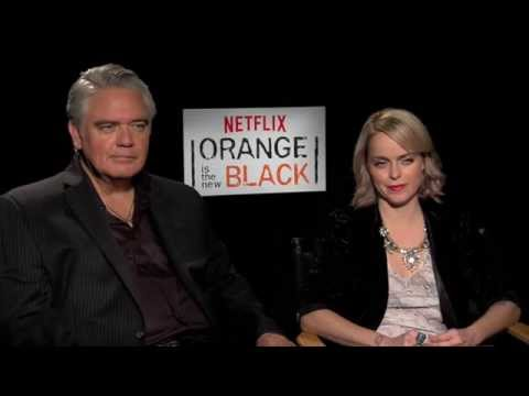 Orange is the New Black's Taryn Manning and Michael Harney   AfterEllen