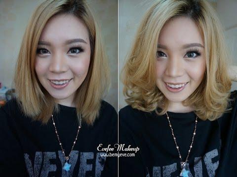 How to : Easy curl for short hair ม้วนผมง่ายๆสำหรับผมสั้น