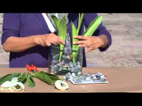 Como hacer un arreglo de tulipanes de seda con piedra de for Como hacer color piedra