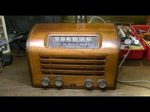 1946 Emerson Model 534 Radio - Is this thing BULLETPROOF?