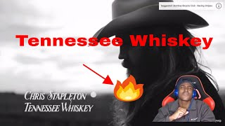 My [First Country REACTION] Chris Stapleton Tennessee Whiskey (audio)