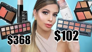 Cheap Dupes for Highend Makeup Tutorial | Laura Lee