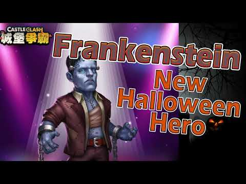 New Halloween Hero Frankenstein Gem Only Castle Clash