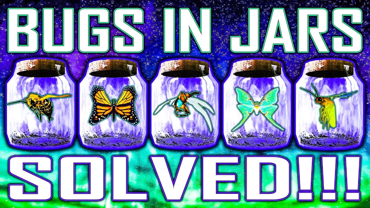 Finally, someone solved the case of the bugs in jars in