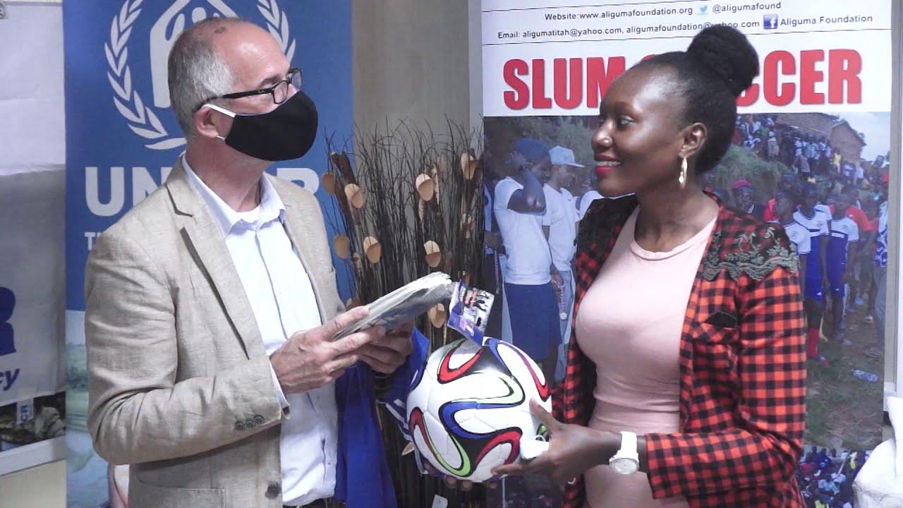 UNHCR evuddeyo okuwagira slums soccer tournament