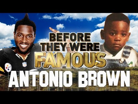Antonio Brown | Before They Were Famous | 2017 Biography