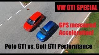 Download Video VW GTI Special: Polo GTI vs. Golf GTI - Head to Head race! MP3 3GP MP4