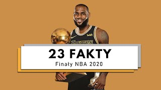 THIS IS FOR KOBE ► 23 ciekawostki o FINAŁACH NBA 2020