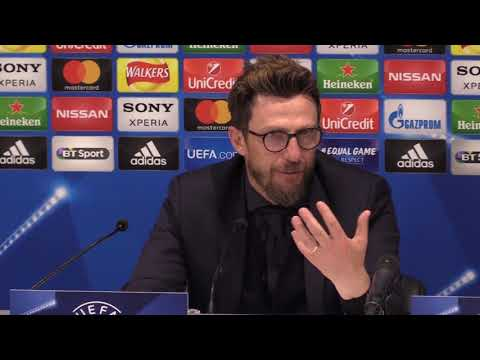 Di Francesco: Anyone who doesn't believe in a comeback can stay at home!