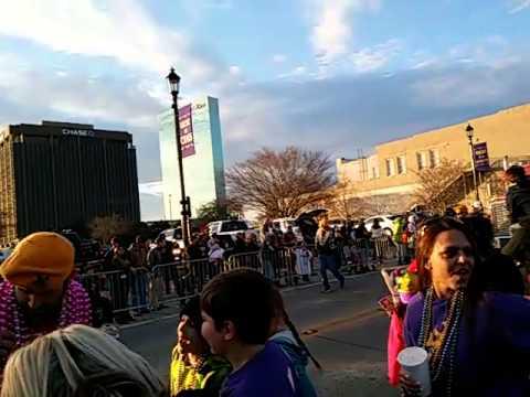 Mardi Gras parade Lake Charles
