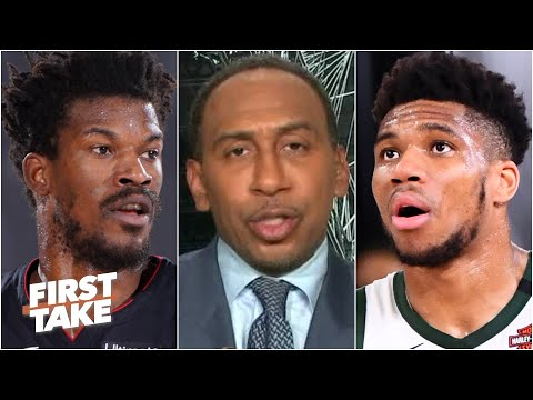 Stephen A. reacts to the Heat knocking out the Bucks in Game 5 | First Take