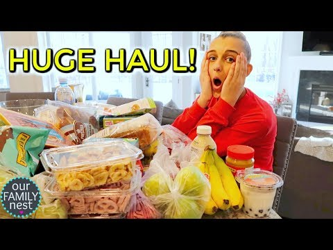 SHOPPING SUNDAY! Huge Health Food Shopping Haul!