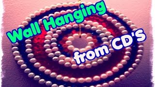 How to | Make Wall Hanging from CD