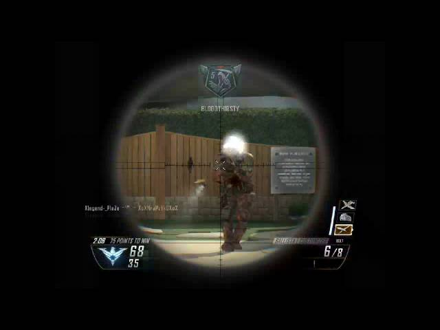 Xlegend-_PlaZe - Black Ops II Game Clip