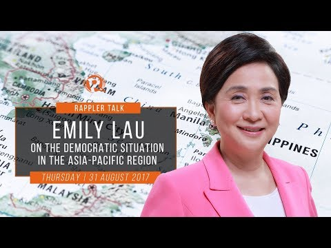 Rappler Talk: Emily Lau on the democratic situation in the Asia-Pacific region