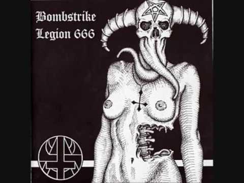 Download BOMBSTRIKE & LEGION 666   Temple Of Blasphemy (split EP, 2004)