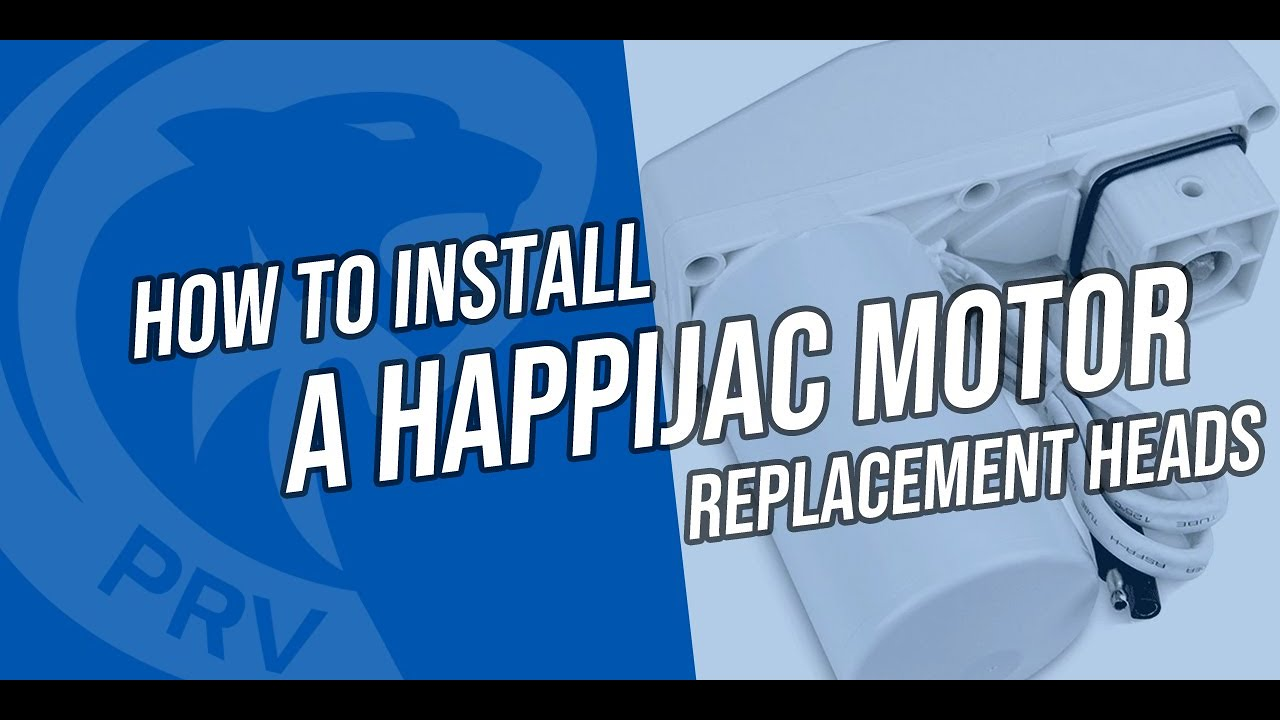 How to install a Happijac Motor Head Happijac Wiring Diagram on