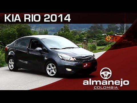 Prueba Kia Rio 2014 Almanejo Colombia