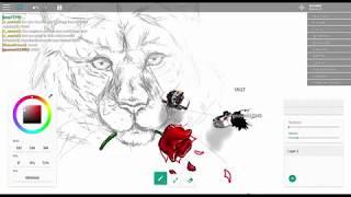 Roblox, Free Draw Speedpaint | (300+ sub info description!!)
