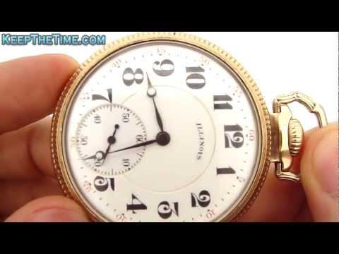 Illinois Pocket Watch Co. Bunn Special Sixty Hour