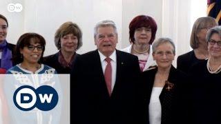 الرئيس الألماني يكرم مغربية بوسام الشرف   الأخبار