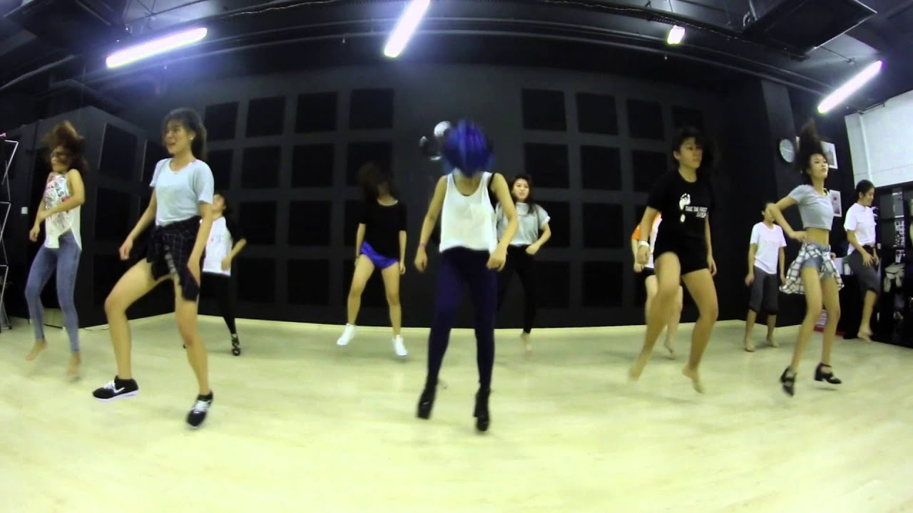 you think snsd jazz funk 1 open class step