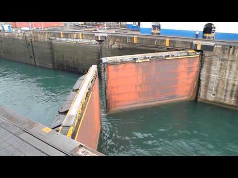 Canal de Panama - Esclusas de Gatun