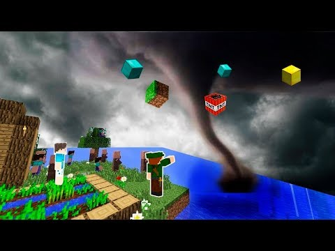 AMIGOS SALVAM A VILA DO MAIOR TORNADO NO MINECRAFT!!