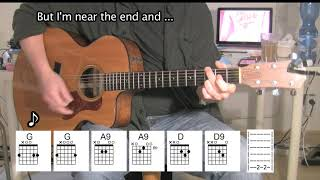 Can't Find My Way Home - Acoustic Guitar - Eric Clapton/Steve Winwood