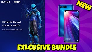 New HONOR SMARTPHONE EXCLUSIVE SKIN BUNDLE in Fortnite