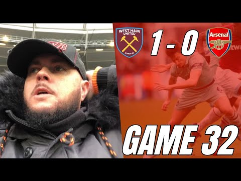 West Ham 1 vs 0 Arsenal - Absolutely Disgusting Performance - Matchday Vlog Mp3