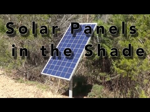 How Does Shading Affect Solar Panels Youtube