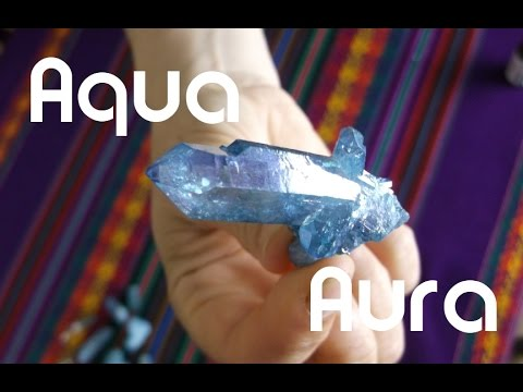 Aqua Aura Quartz - The feel good crystal
