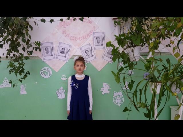 Изображение предпросмотра прочтения – ТатьянаГорбунова читает произведение «Черёмуха» С.А.Есенина