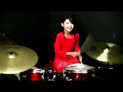 Dil To Pagal Hai - Drum Cover by Nur Amira Syahira