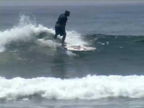Longboard Surfing:  Corky Carroll at La Saladita