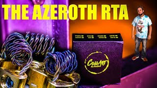 The Azeroth RTA from CoilArt by CoilTech Has One Fancy Triple Coil Postless Deck