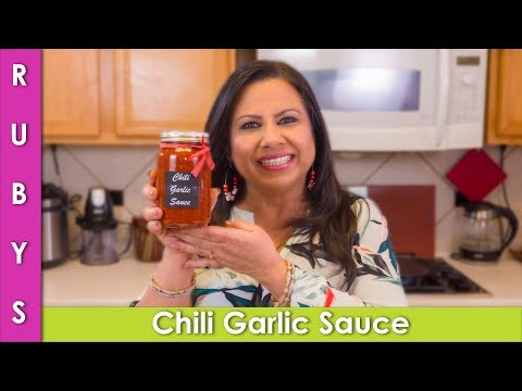 Chili Garlic Sauce Chinese Recipe In Urdu Hindi - RKK