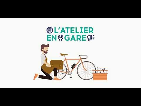 Ateliers vélo en gare de Nanterre-Ville