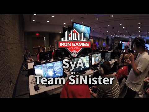 Iron Gaming Atlanta 2015 | SyA vs Team SiNister