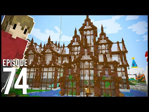 Hermitcraft 7: Episode 74 - THE FINAL BARGE BUILD - Grian