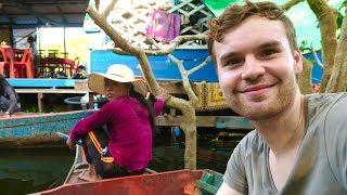 CAMBODIA'S AMAZING FLOATING VILLAGE 🇰🇭