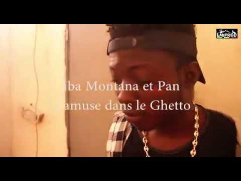 Iba Montana dans son Ghetto