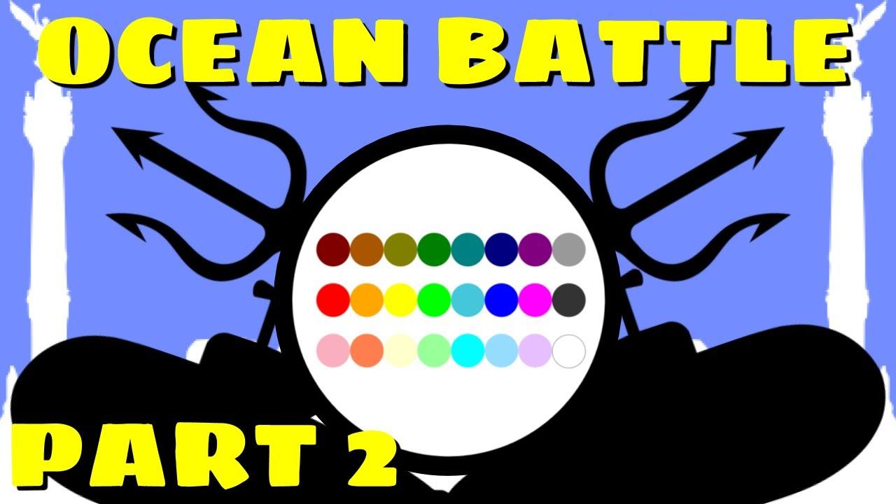 24 Marble Race Battle : Ocean Battle PART 2 (by Algodoo)
