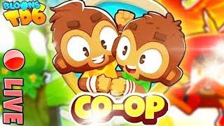 Zapis LIVE | COOP | Solo Monkey | Bloons TD6 PL