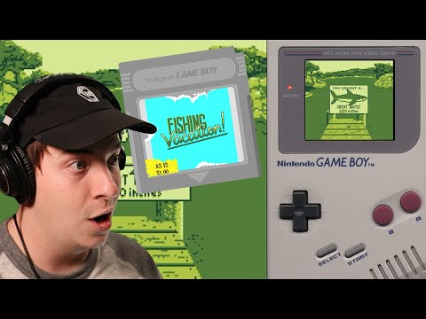 GAMEBOY INDIE HORROR   Fishing Vacation